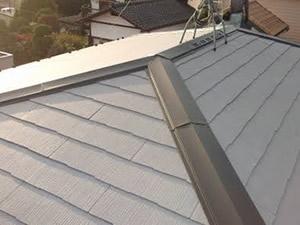 カラーベスト遮熱グラッサの屋根
