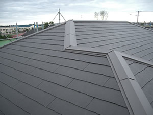 カラーベストコロニアルグラッサの屋根