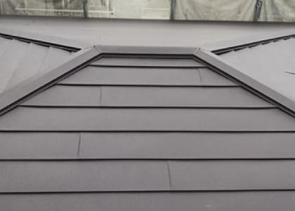 屋根のカバー工法の画像