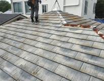 屋根のカバー工法(重ね葺き工事)の流れイメージ①
