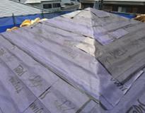 屋根のカバー工法(重ね葺き工事)の流れイメージ②