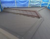 屋根のカバー工法(重ね葺き工事)の流れイメージ④