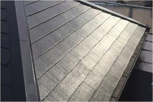 カラーベスト(スレート瓦)の屋根塗装工事後