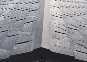 新しい屋根材の施工画像