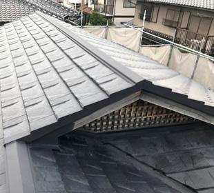 屋根葺き替え工事の画像