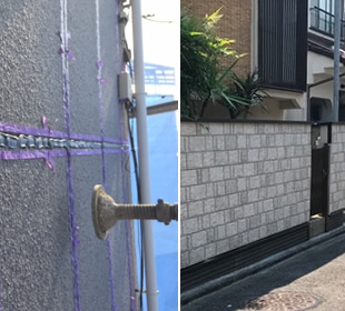 外壁工事・コーキング工事の画像