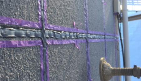 外壁コーキング工事の画像