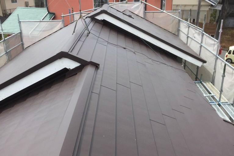 断ルーフの屋根の画像