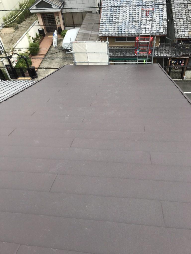 和瓦からスーパーガルテクトへの屋根葺き替え工事